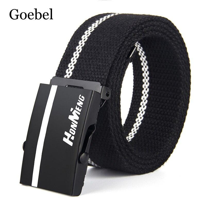 Belt Belt Men /& Women Belts for Jeans Male Luxury Canvas Straps Belts