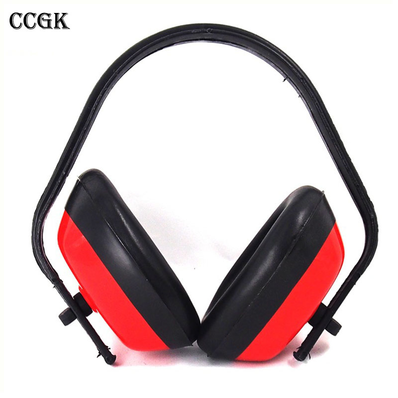 CCGK Protection Ear Muff Ear Protectors Noise Reduction Soundproof Earmuffs Sleep Headset Hearing Protection 26db Adjustable industrial noise soundproof earmuffs sleep study noise muffler labor protection shot silence