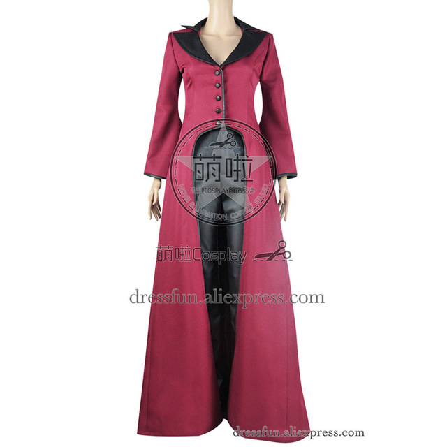 once upon a time cosplay evil queen regina mills costume coat uniform outfits suit halloween fashion