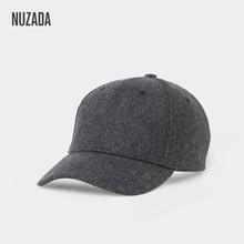Brand NUZADA Autumn Winter Keep Warm Snapback Bone Men Women Baseball Caps