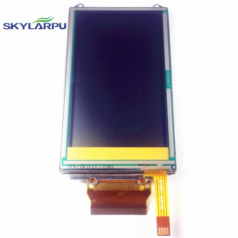 skylarpu 3 inch complete LCD For GARMIN OREGON 450 450t Handheld GPS LCD display screen + touch screen digitizer Free shipping skylarpu 3 inch lcd for garmin oregon 550 550t handheld gps lcd display screen without touch panel free shipping