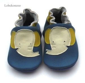 Image 2 - Lobekonzoo  hot sell baby boy shoes  Guaranteed 100% soft soled Genuine Leather baby First walkers for boys   infant boy shoes