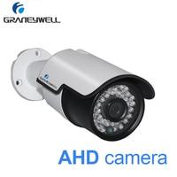 GRANEYWELL Security Camera AHD 1080p Night Vision Home DVR Monitor Camera 36 IR LEDs Waterproof Bullet CCTV Video Surveillance