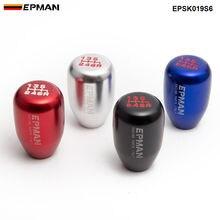 Спортивный EPMAN Универсальный Гоночный ручка переключения рулевого механизма автомобиля ручная автоматическая рукоятка для рычага переключения передач рычаг 6 скоростей EPSK019S6