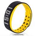 Envío gratis elegante Impermeable vibración de alarma reloj de Pulsera anillo de la mano deportes led reloj electrónico Mens Digital simple