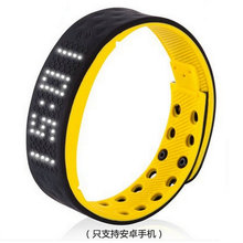 Free shipping Waterproof smart vibration alarm clock sports hand ring led electronic watch Mens Digital simple