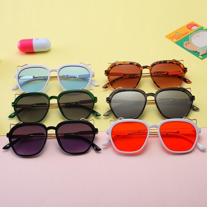 Girls' Clothing Child 2019 New Square Frame Sunglasses Kids Gold Leg Children Glasses Uv400 Baby Summer Eyeglasses Cute Girl Eyewear N336 Reliable Performance