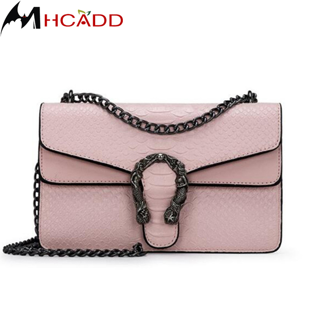 Bag Women Crocodile Us10 Messenger Ladies Crossbody Woman Leather Chain Mujer Pattern Bolsos Bags 87 48Off Handbag Shoulder In Bols fashion Purse thQCsdr