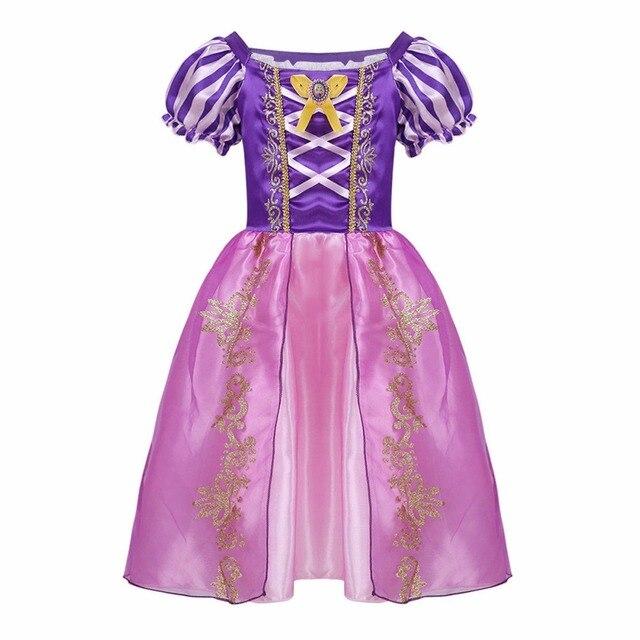 קלאסי בנות רפונזל שמלות ילדי נסיכת שמלות סבוך רפונזל המפלגה ליל כל הקדושים תלבושות מותג ילדי שמלה חמוד בגדים