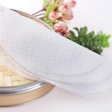 20-60 см многоразовый силиконовый антипригарный кухонный паровой коврик для пароварки, фаршированные пельмени булочки
