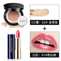 Brand Lip Kit Beauty Lipstick Matte Waterproof Natural Beauty Air Cushion CC Cream Naked Finish Concealer Whitening Foundation