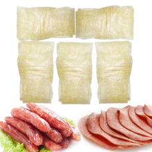 5PCs Meat Casing for Sausages Hot Dog BBQ Grilled Sausage Salami Meat Party Food Maker