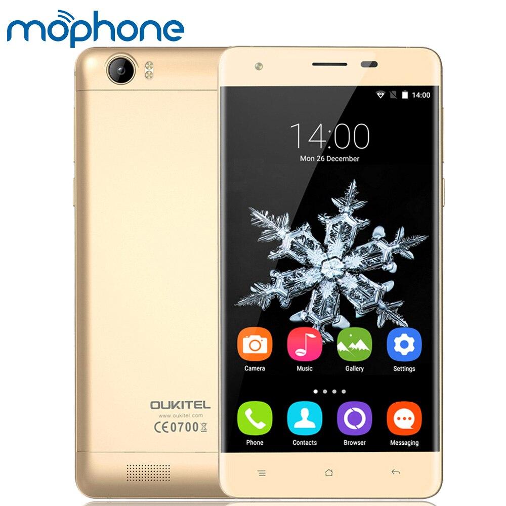 """Цена за Oukitel k6000 4 г mtk6735p quad core смартфон 5.5 """"ips 2 г + 16 г 6000 мАч батареи сплава рамка быстрая зарядка адаптер мобильного телефона"""