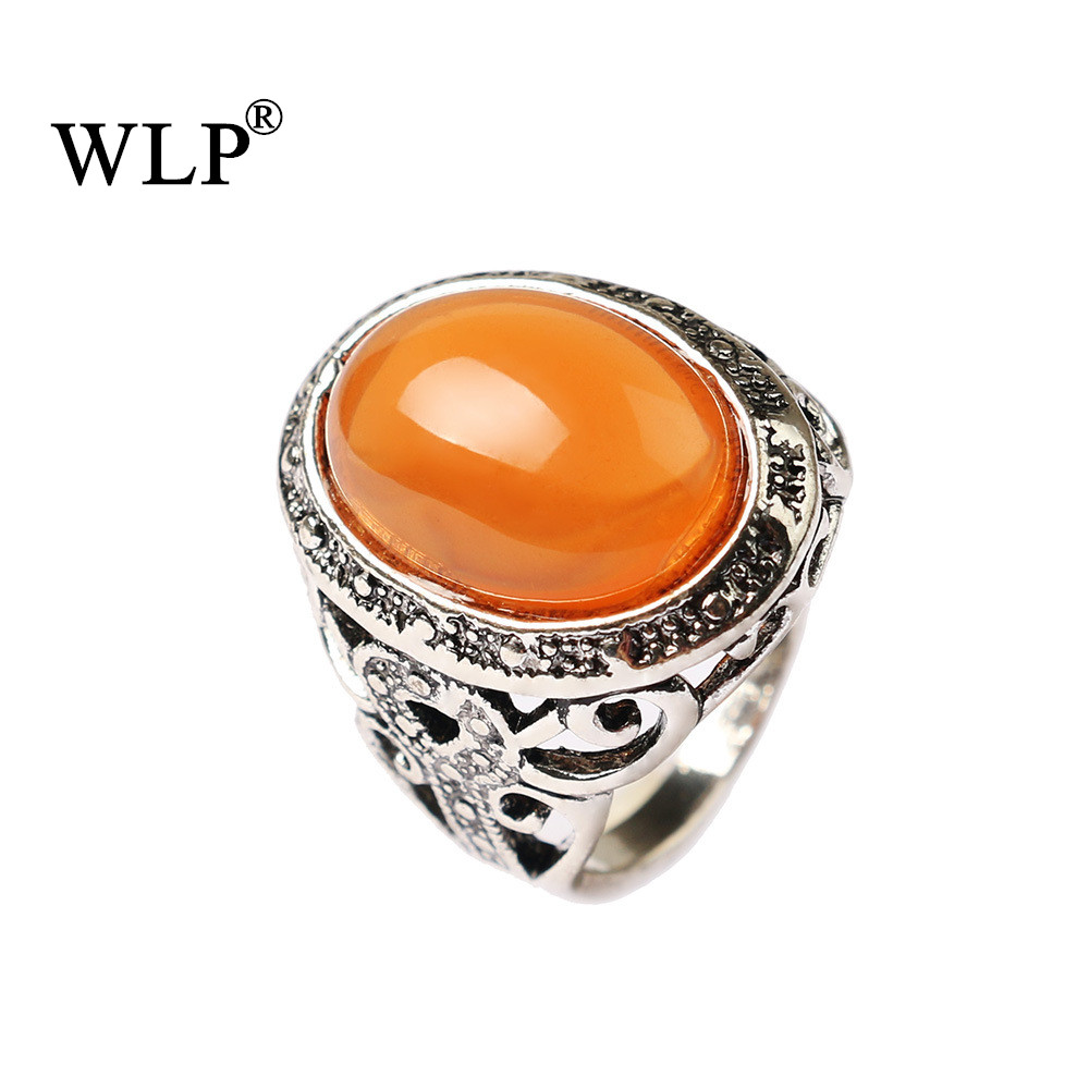 WLP Hollow-out Artificial Imitation Decoration Russian Tibet Ethnic Silver Plated Finger Rings Men&Women Free Shipping