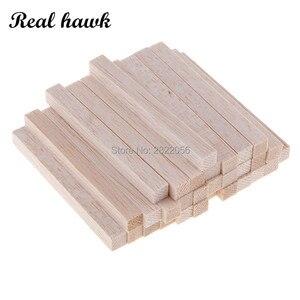 3x3mm Square Balsa Wood Stick Wooden Dowel Rod Block for Kids Model Making Ornaments DIY Craft long 50/80/100/130/150mm(China)