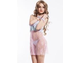 RH7768 Hot sale sex products fashion style plus size women lingerie popular design transparent babydoll erotic lace chemise