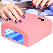 Hotting Gel Nail Dryer High Quality 36W UV Lamp 220V EU Plug Led Nail Lamp Curing Light Nail Art Dryer Styling Tools