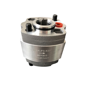 Gear pump CBK-F0.8F CBK-F0.5 CBK-F1.2 CBK-F1.6 CBK-F0.63 high pressure oil pump anticlockwise Car tail hydraulic power unit high pressure gear oil pump cbt e316 hl constant flow hydraulic pump