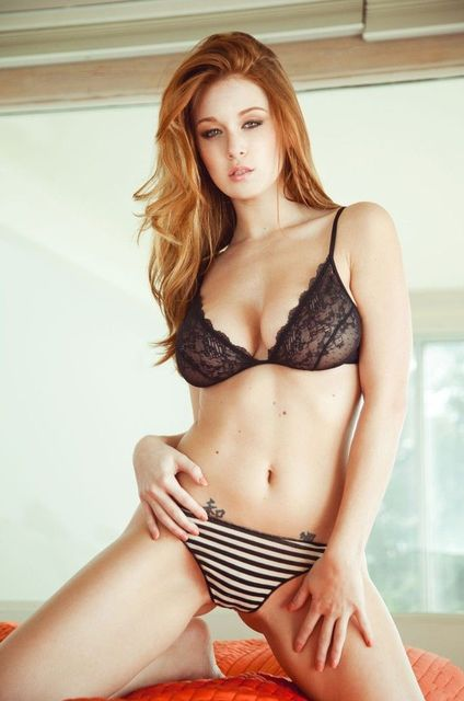 Leanna Decker Sexy Girl Usa Hot Star Fabric Poster