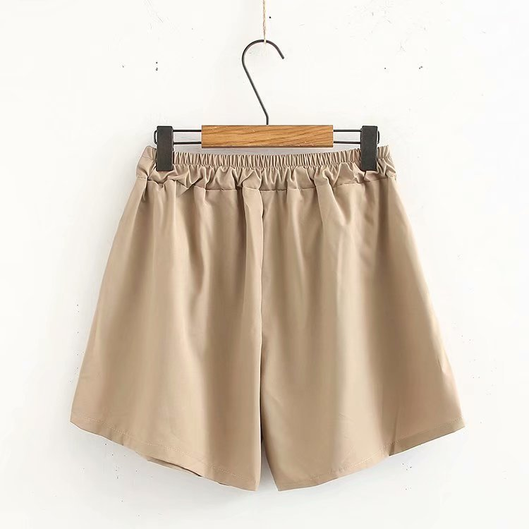 Cargo Shorts Women Safari Style Loose Pockets Plus Size High Waist Summer Shorts KKFY3484 in Shorts from Women 39 s Clothing