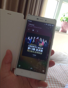 "Image 5 - 100% המקורי xiaomi redmi 3 case flip יוקרה עור מפוצל Flip חזרה כיסוי עבור xiaomi redmi 3 redmi3 5.0 ""(אין טביעות אצבע חור!!!)"