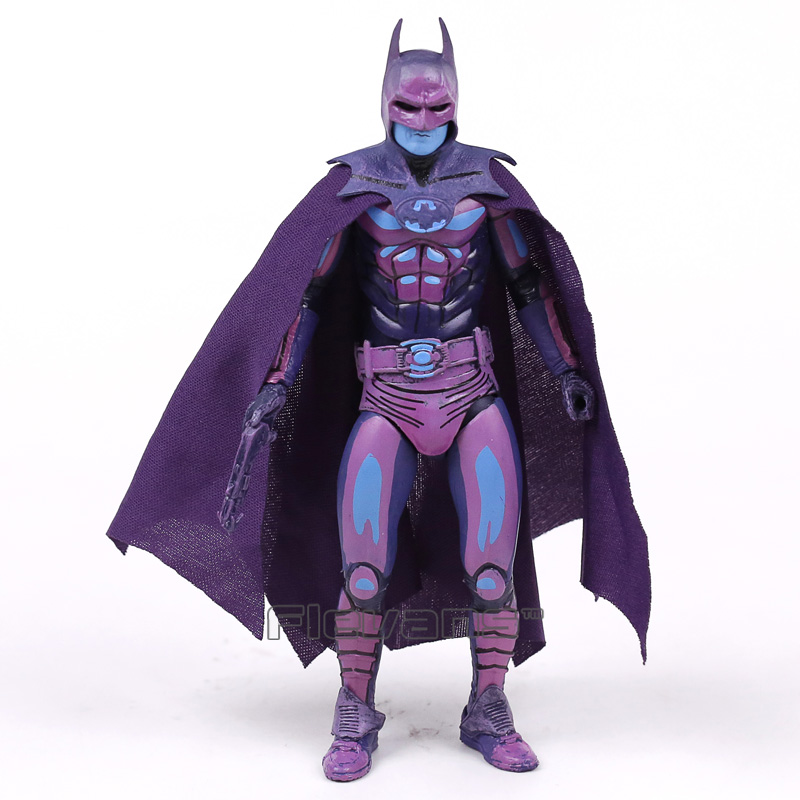 NECA Batman Classic Video Game Appearance PVC Action Figure Collectible Model Toy 7inch 18cm neca a nightmare on elm street 3 dream warriors pvc action figure collectible model toy 7 18cm kt3424