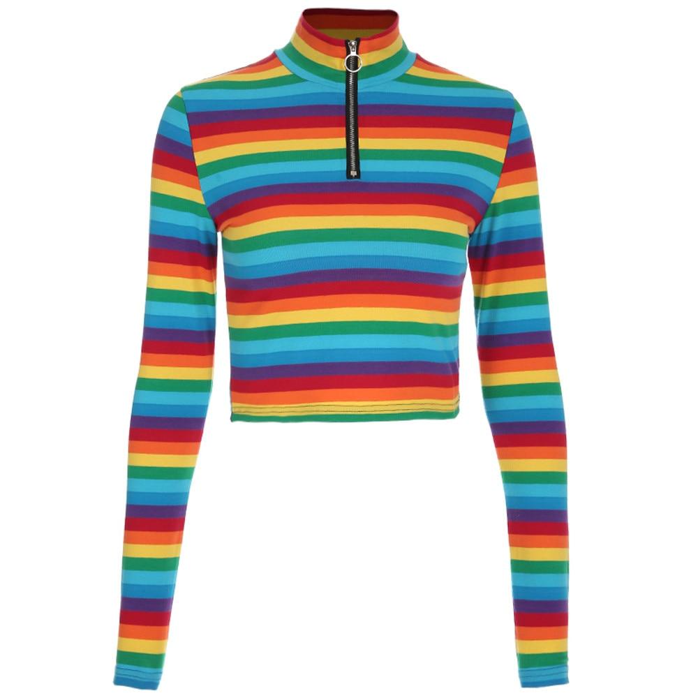 601c174cfc049 Rainbow Plus Size Blouses - Joe Maloy