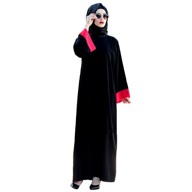 Casual Muslim Maxi Dress Chiffon Abaya Kimono Vintage Long Robes Loose  Style Ramadan Arabic Turkish Islamic Prayer Clothing f7c1ea81d3a2