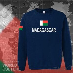 Image 3 - Madagascar con cappuccio da uomo felpa felpa sportivi hop streetwear tuta nazione calciatore MDG Malagasy Madagasikara Madagascar
