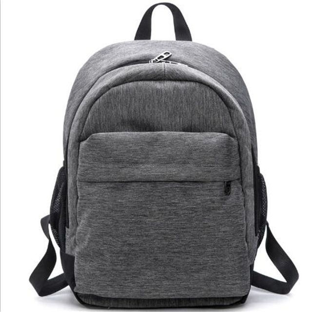 2017 Women Canvas Backpacks Ladies Shoulder Bag Rucksack School Bags For Girls Laptop Travel Bolsas Mochilas Sac A Dos Gray Blue