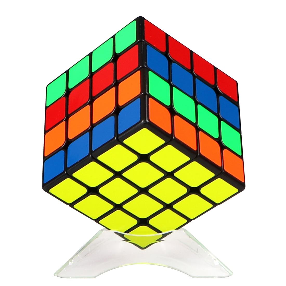 Surwish Qiyi Mofangge Wuque Mini Type magnétique 4x4 Cube magique jouets éducatifs pour l'entraînement du cerveau