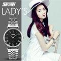 skmei 9105 best price stainless steel alloy metal watch female watch