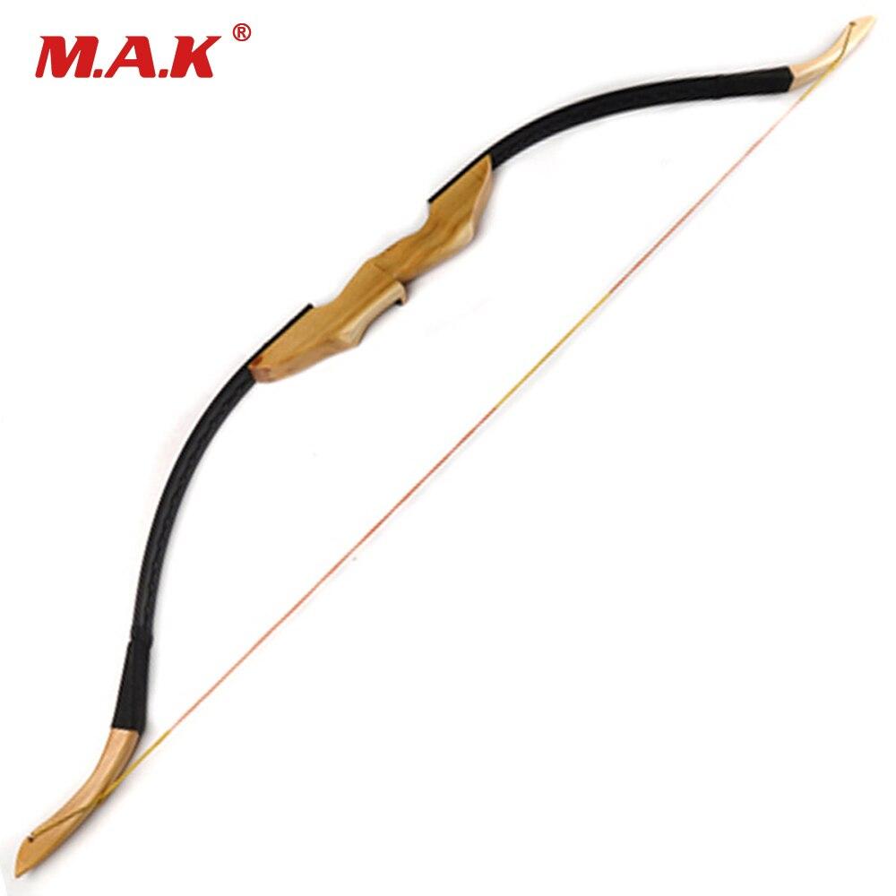 30/40LBS традиционный монгольский изогнутый лук для правой левой руки с Mingjiao деревянной ручкой и Мех животных отдых стрельба из лука охота/Shotting