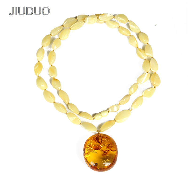 Baltic pure 100% natural amber original stone chicken oil yellow old wax water drops pendants sweater necklace men and women 40g natural beeswax carp pendant chicken oil yellow old honey carving pendant necklace men and women sweater chain amber jewelry
