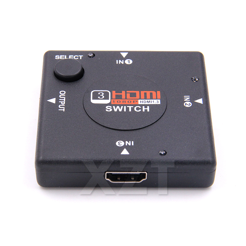 Back To Search Resultscomputer & Office Helpful Mini 3 Port Hdmiv1.3 Port Hdmi Switch Switcher Full Hd 1080p Vedio Splitter Amplifier For Xbox Switch Switcher Drop Shipping