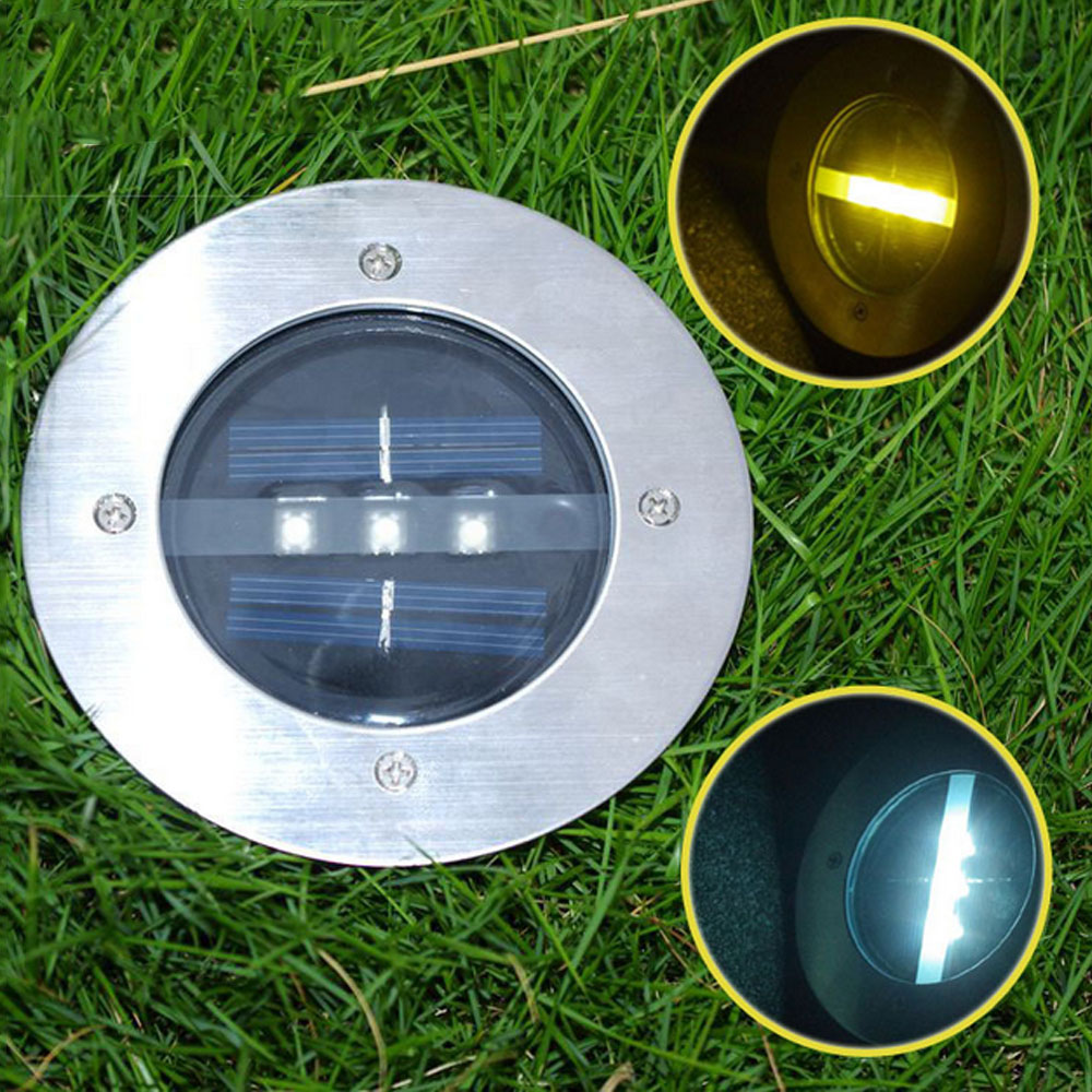 Outdoor Patio Ground Lights: TAMPROAD 10PCS Outdoor Ground LED Light Garden Path Floor