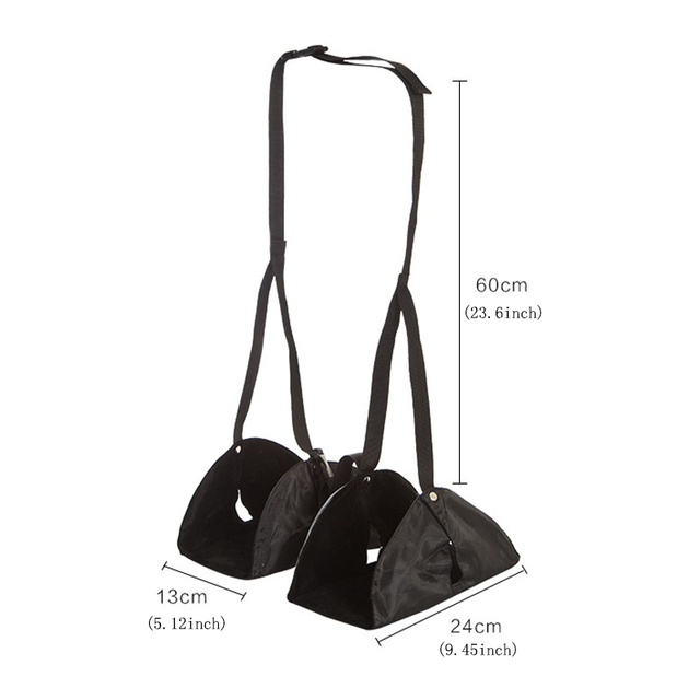 Flight Car Travel Essential Aviation Seat Foot Pad Adjustable Train Airplane Rest Feet Hammock Portable Accessories 3