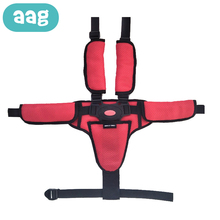 AAG Baby Universal Seat Safety Belt 3 Point 5 Child Chair Stroller Tricycle Car Dinning Highchair Harness Fixed Strap