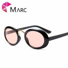 MARC UV400 WOMEN MEN designer sunglasses leopard print Oculos glasses Gradient White Resin Oval Red