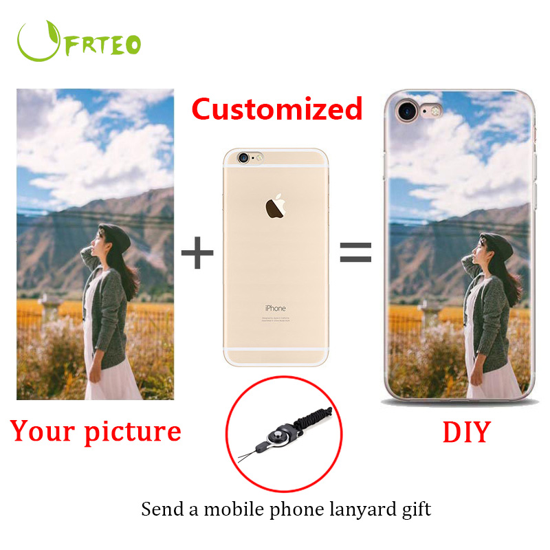 2019 Custom Print Photo TPU Phone <font><b>Cases</b></font> For <font><b>iPhone</b></font> 6 <font><b>6S</b></font> 7 8 Plus <font><b>Silicone</b></font> <font><b>Case</b></font> Coque DIY Personalised <font><b>Logo</b></font> Cover For <font><b>iPhone</b></font> X Xs image