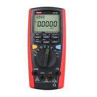 UNI T UT71B Цифровой мультиметр Eletronic AC DC True RMS Авто/ручной диапазон допуска (nS) c/F термометр VFC ЖК дисплей Подсветка