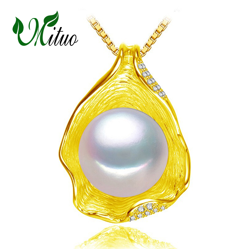charm Shell design Pearl Jewelry,Pearl Necklace Pendant, 925 sterling silver jewelry ,fashion necklaces for women 2018 new