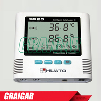 Huato S520 TH Humidity Temperature Data Logger With Printing Real Time Function