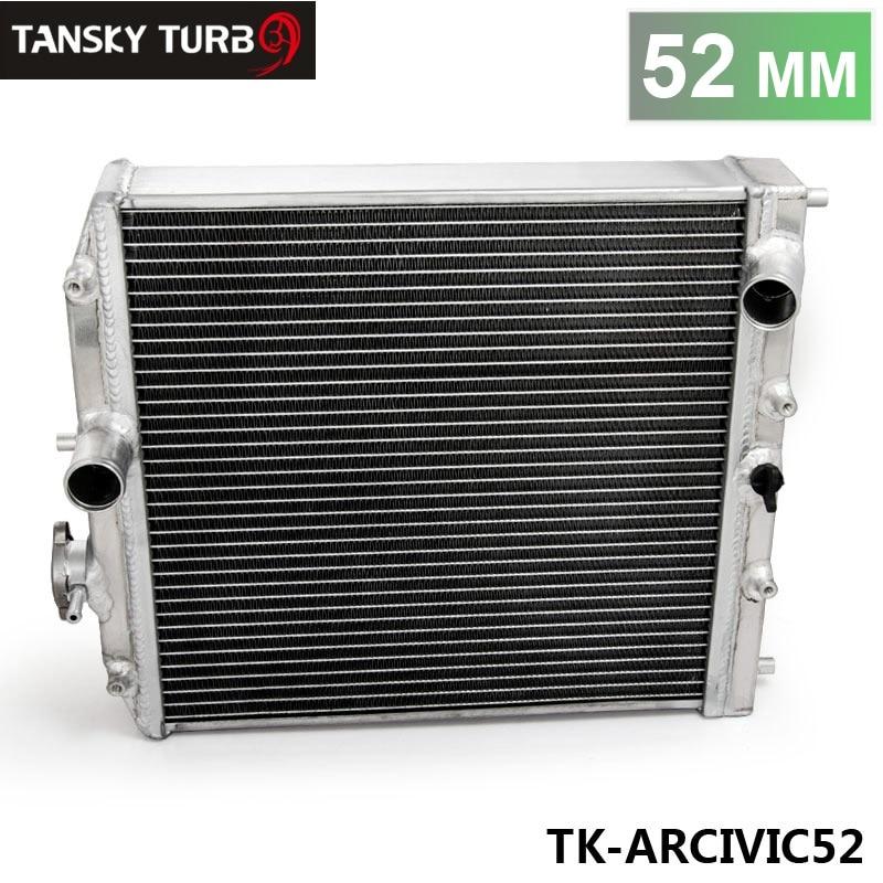 Prix pour TANSKY-Haute performance JDM 3 Row Racing Radiateur En Aluminium Pour Honda Civic EK EG DEl Sol Manuel 52 MM TK-ARCIVIC52