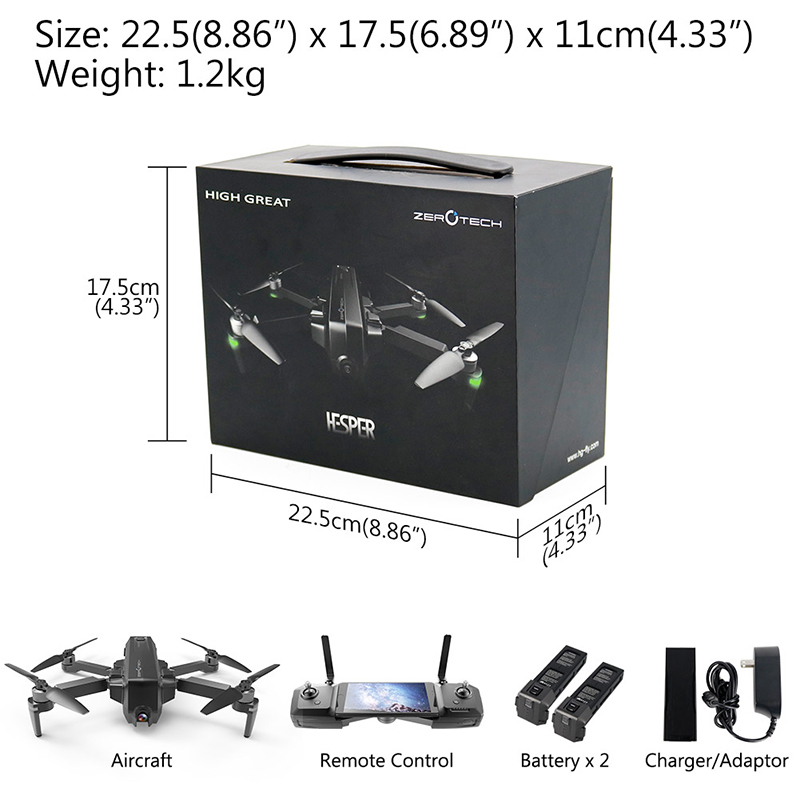 HESPER GPS Drones with Full HD 4K Camera (23)
