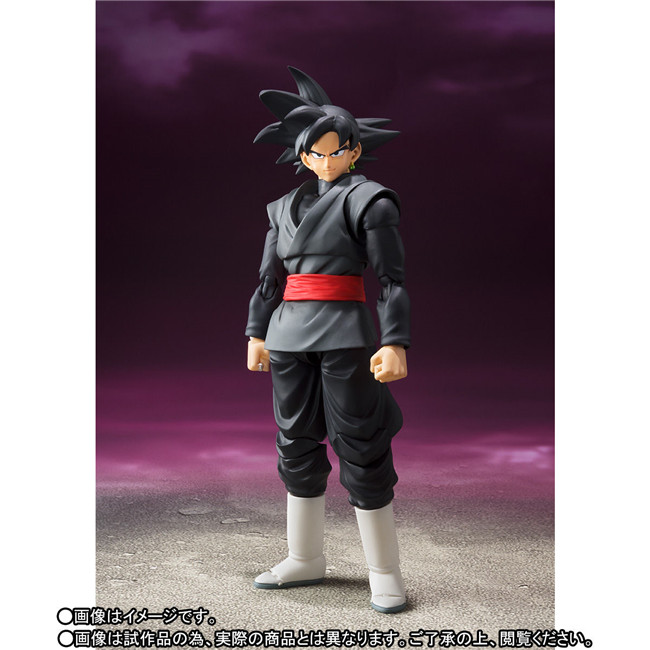 Original Dragon Ball SUPER S.H. Figuarts / SHF Exclusive Action Figure – Super Saiyan Rose Goku Gokou Black