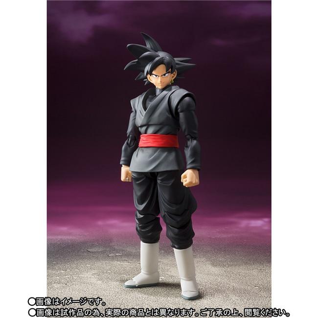 Original Dragon Ball SUPER S.H. Figuarts / SHF Exclusive Action Figure – Super Saiyan Rose Goku Gokou Black