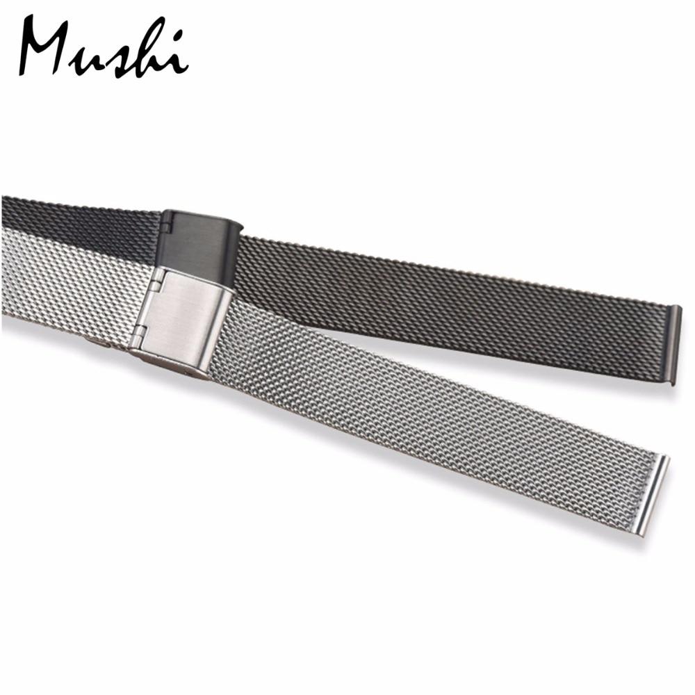 Milanese Stahlarmband für DW Armband Armband Silber Edelstahlarmband - Uhrenzubehör - Foto 3