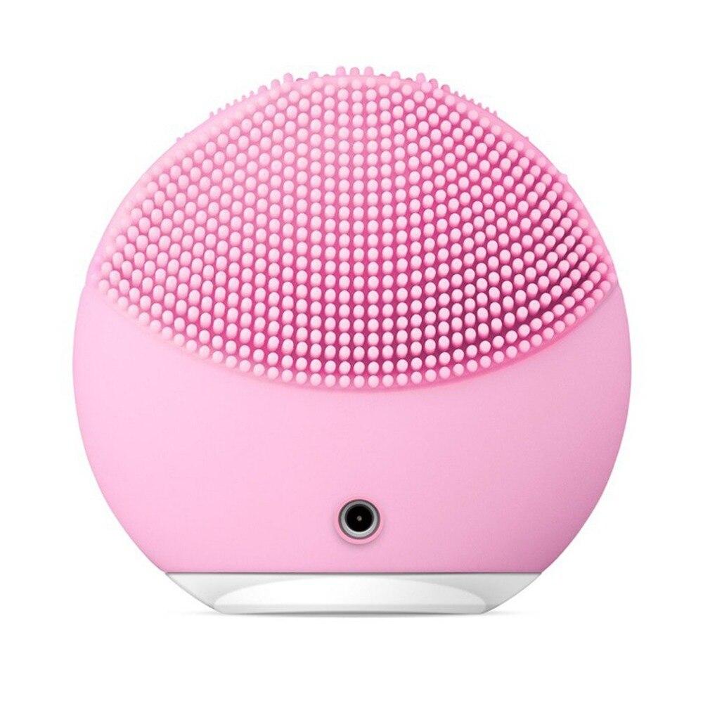 T-sonic Silicone Nettoyage Dispositif Point Noir traitement de l'acné Rechargeable Électrique nettoyant facial Beauté Instrument livraison directe