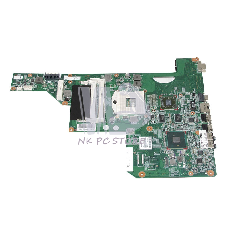 NOKOTION 615381-001 Main board For Hp G62 Laptop Motherboard 15.6 INCH HM55 DDR3 with Graphcis card Full tested nokotion 646176 001 laptop motherboard for hp cq43 intel hm55 ati hd 6370 ddr3 mainboard full tested